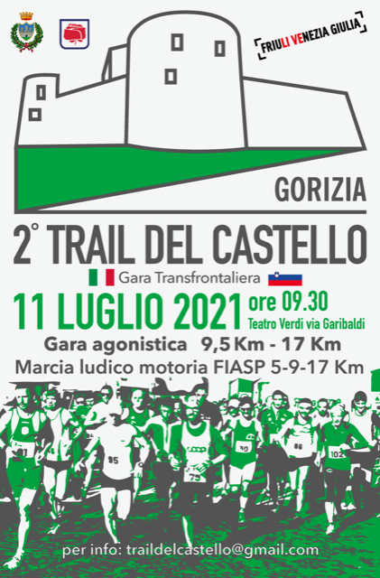 Ultime disponibilità per iscriversi al TRAIL DEL CASTELLO 2021